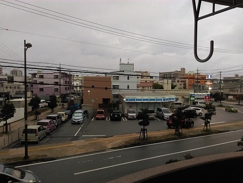 台風18号とサンエー