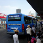 チョロンバスターミナル(中華街) Cho Lon⇒ベンタインバスターミナルまでバスで戻ろう!