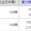 4/16 持ち株報告