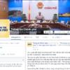 ベトナム政府、公式フェイスブックページ